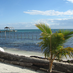 Belize beach and coast