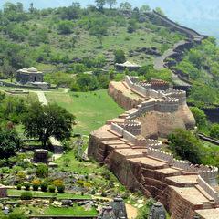 India historic wall
