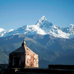Nepal himalayan mountain range
