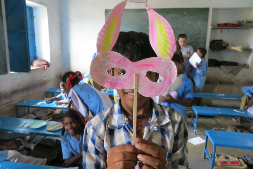 Angela's experience volunteering in India!