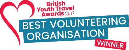 British Youth Travel Awards Winner logo
