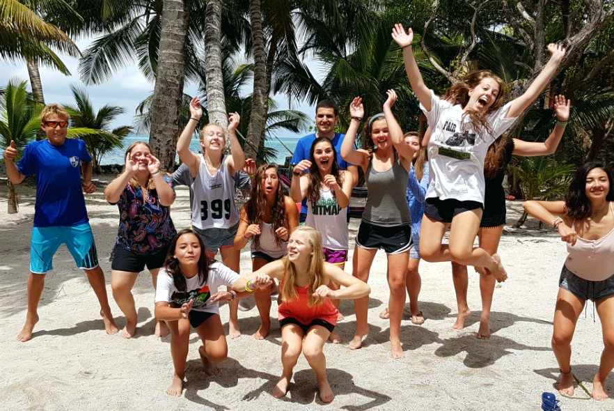 School trip to the Caribbean