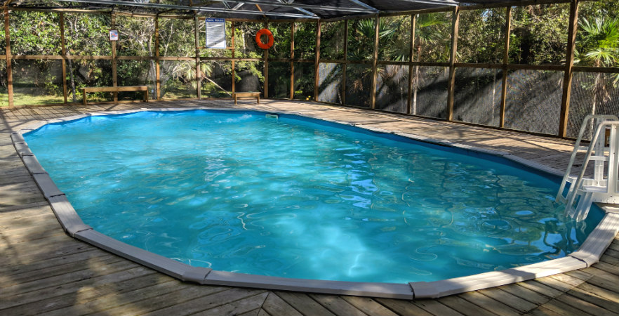 Caribbean Wildlife accommodation pool