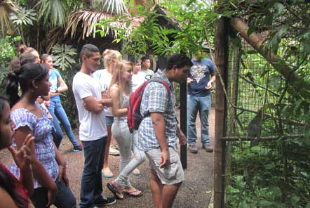 Conservation group tour