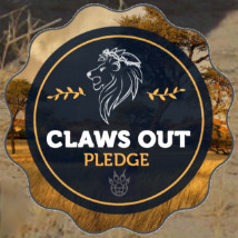 Pod are proudly supporting the ClawsOut lion campaign!