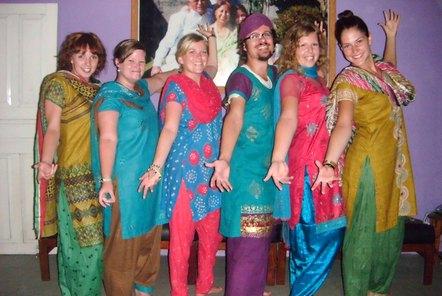 Volunteers celebrate Dashain and Tihar festivals in Nepal!