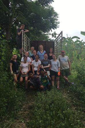 DofE volunteer group