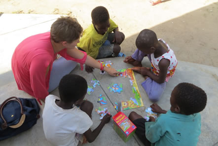 Puzzles in Ghana