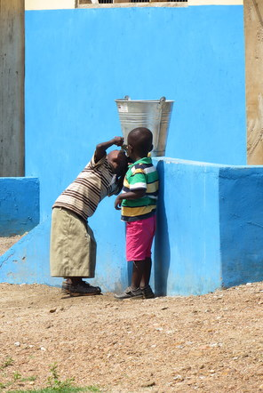 Vital water sanitation project in Ghana