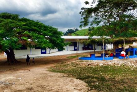 New volunteer base in Ghana