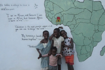 Sarah's experience at the community projects in Ghana