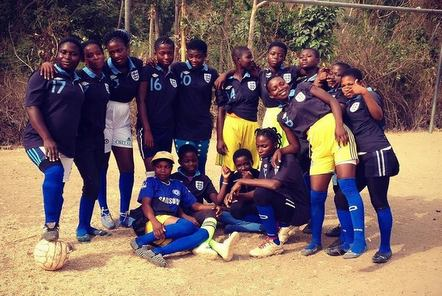 Women's football team in Ghana