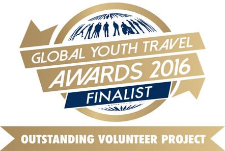 Outstanding Volunteer Project - we were awarded finalist!