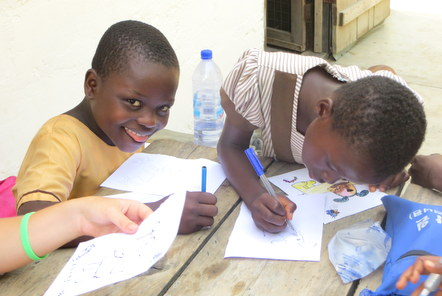 Volunteer diary from our village in Ghana