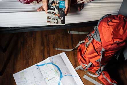 How to stay secure in hostels and guest houses