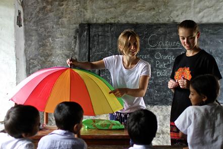 Teaching in Nepal