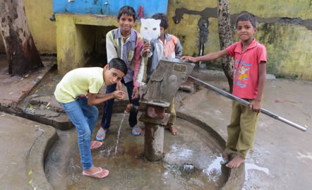 Pod Charity donation in India
