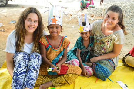 India Community Education and Child Care Volunteering