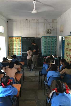 Teaching in a community school