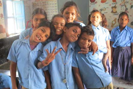 The Community Education project works with a local primary school in Udaipur