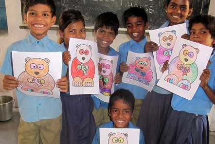 Lucy's experience at the Community Education project in India