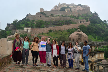 Medieval hilltop fortress of Kumbhagargh (near Udaipur)