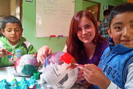 Community Education in Peru