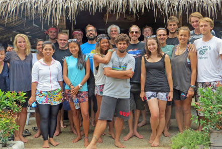 The Marine Conservation Team