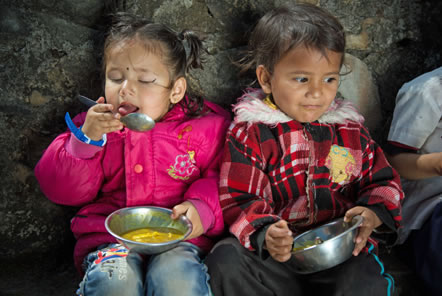 Cheltenham business supports children in Nepal
