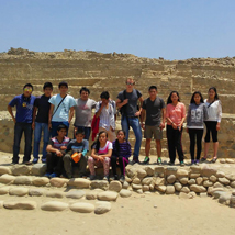 Pod Charity funds trip to the desert & beach for children in Peru