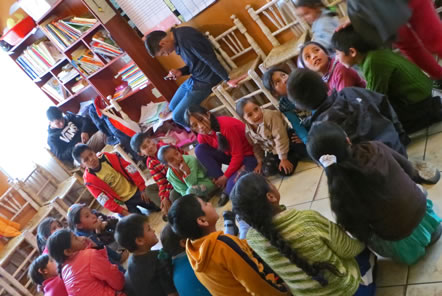 Huaraz Community Education Volunteer