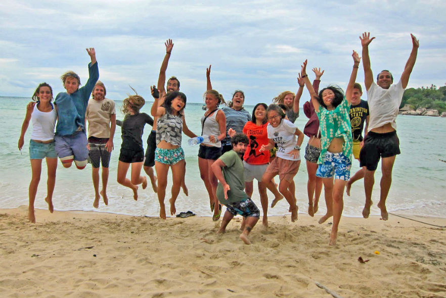 Life at our Marine Conservation project in Thailand!