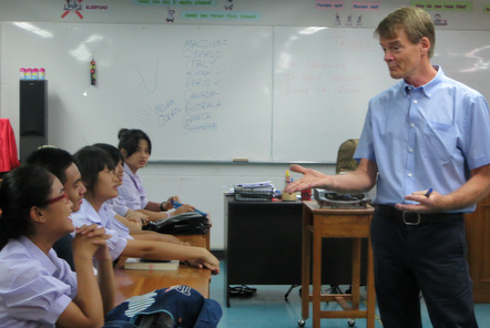 Teaching in Bangkok