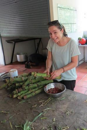 Becky in Thailand