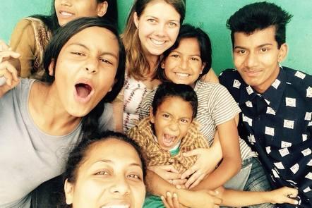 Sarah in Nepal
