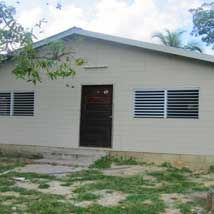 The Transitional Homes at the Children's Home in Belize