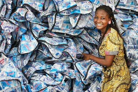 Trashy Bags! Recycling plastic in Ghana