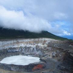 Costa Rica volcanoe