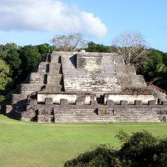 Belize ancient monument