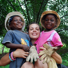 Volunteering with children volunteer with children Africa