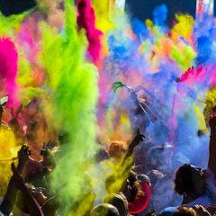 India festival colours