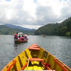 Nepal boat trip