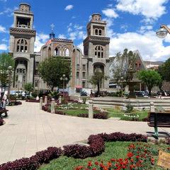 Peru city architecture