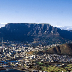 South Africa capetown table mountain