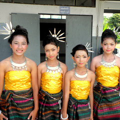 Thailand traditional dress