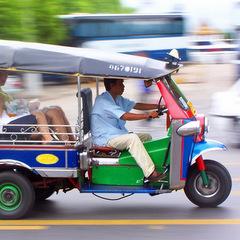 Thailand tuk-tuk Bangkok