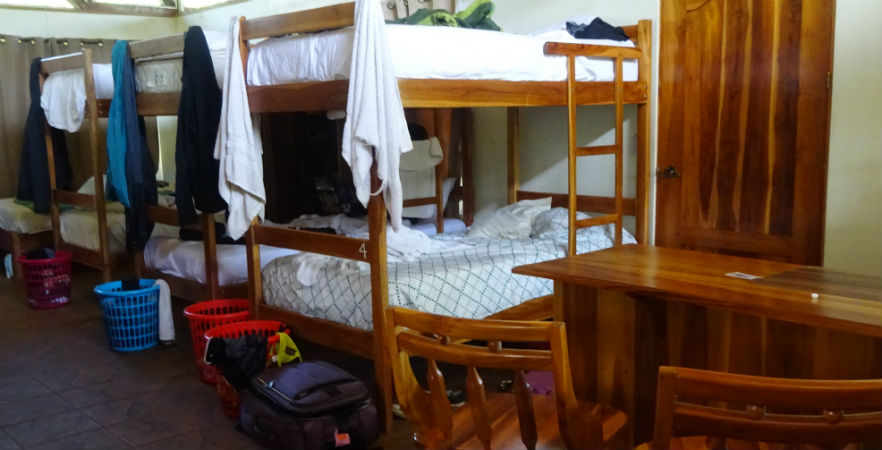 Volunteer house dormitory